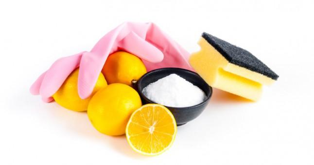 limon ile ev temizlik